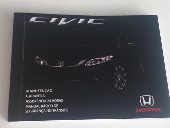 Manual De Revisão E Garantia Honda Civic 2015 2016