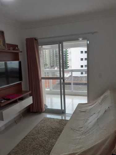 Apartamento No Bairro Tupi Na Praia Grande Com 01 Dormitorio - V-30340