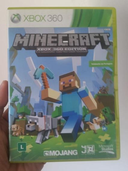 Jogo Minecraft Mídia Física Original Xbox 360 - Frete R$12