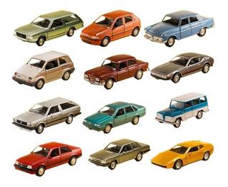 Coleção Clássicos Nacionais 2 Miniatura Completa Carros