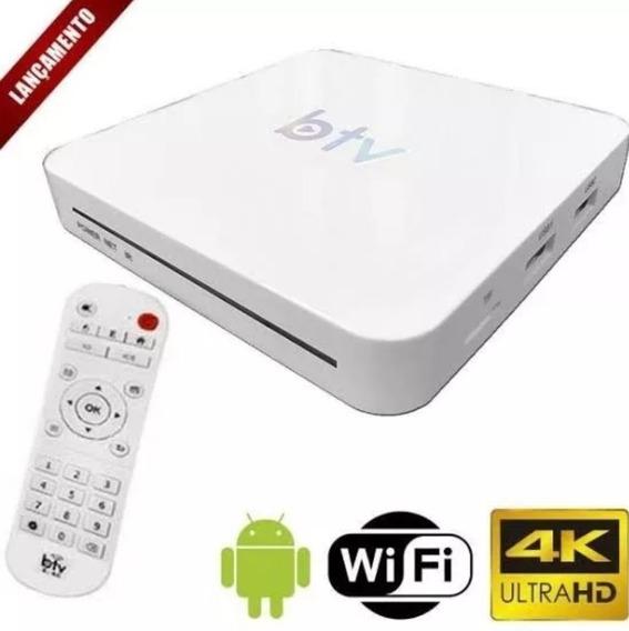 Multimídia Digital Branco Original Btv Lançamento Configuran