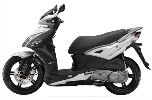 Imagen 1 de 13 de Moto Scooter Kymco Agility City 200i 200 I Piaggio 0km