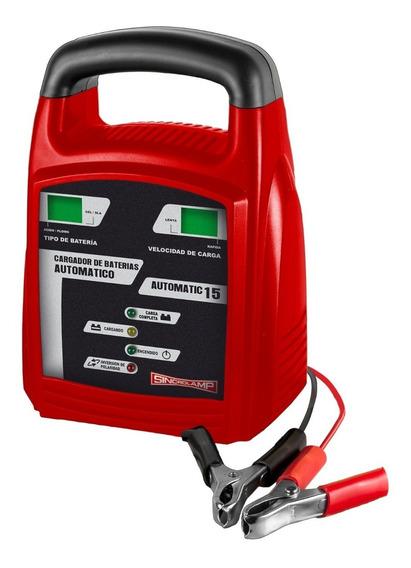 Cargador De Baterías Sincrolamp Automatic 15- 8 Amp/hora