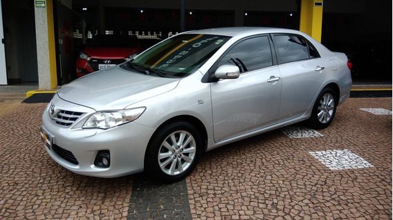 Toyota Corolla Altis 2.0 Automatico 2014 Prata Otimo Estado