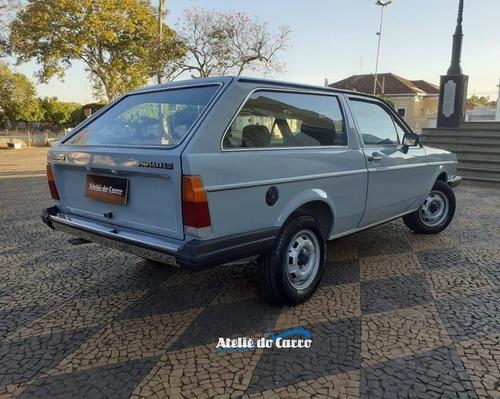 Imagem 1 de 15 de Parati Ls 1983 Original Placa Preta Ateliê Do Carro
