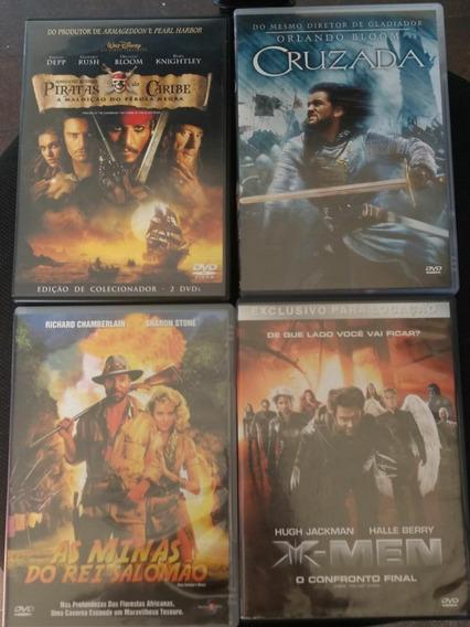 Dvd Original X Men As Minas Do Rei Salomao Cruzada