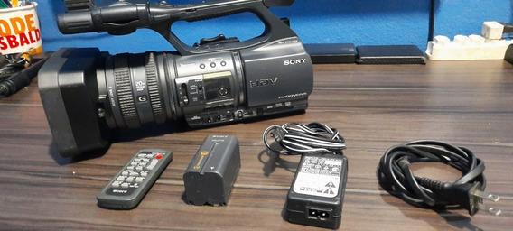 Filmadora Sony Hdrfx1000 Hdmi Limpa Live Barata Bem Conserva