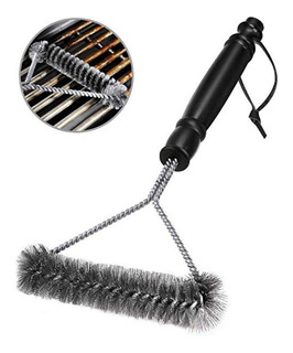 Cepillo De Acero Inoxidable Para Limpiar Parrilla Para Todo Tipo De Asadores Envío Gratis