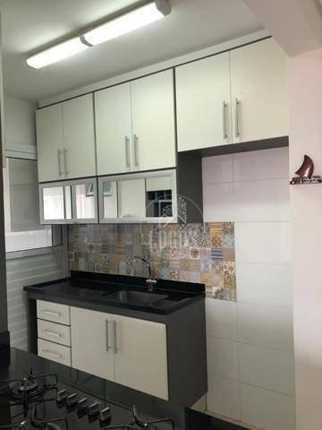 Imagem 1 de 15 de Apartamento Com 71m² Composto De 3 Dormitórios Com 1 Suíte, À Venda Por R$ 470.000,00 - Vila Gonçalves - Sbc/sp - Ap1571