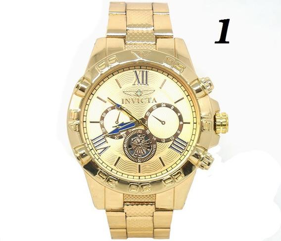 Kit Relógios De Luxo - Altissima Qualidade - Ótimo Preço