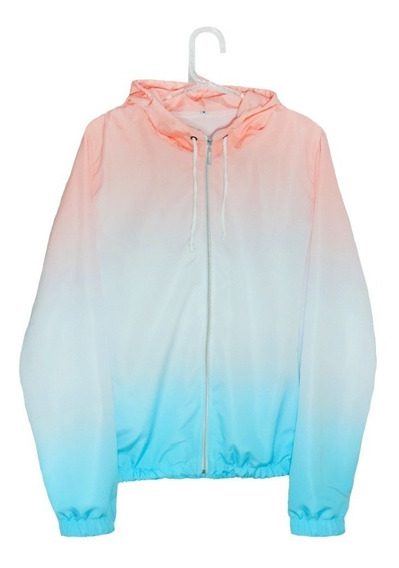 Jaqueta Corta Vento Degradê Colors Windbreaker Trust Tye Die