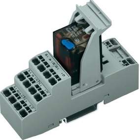 5 Rele Interface Wago 858-304 / 4 Contato Reversível 24vdc