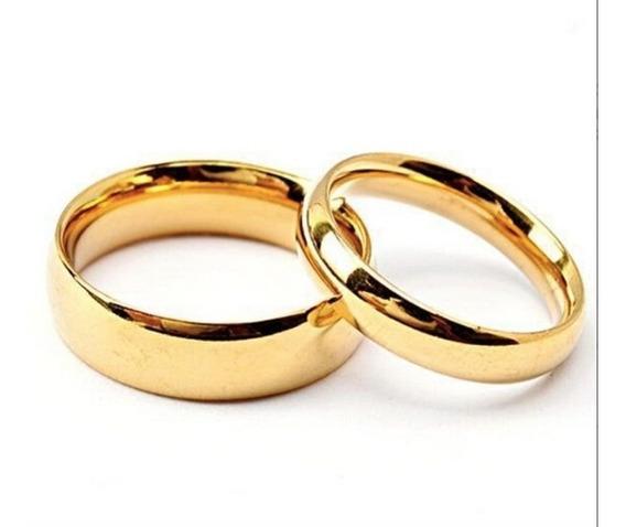 Set 2 Arras Anillos De Boda Matrimonio Lamina Chapa Oro 18k