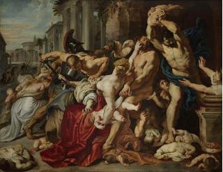 Cuadro Decorativo La Masacre De Los Inocentes (1611-1612)