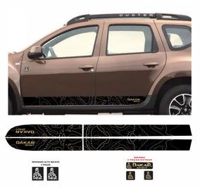Kit Faixa Lateral Adesivo Duster Dakar Spirit Jg + Brinde