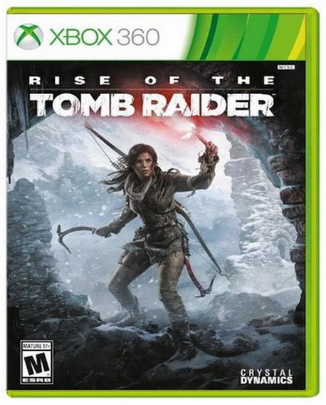 Rise Of The Tomb Raider Xbox 360 Nuevo Y Sellado Juego