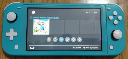 Nintendo Switch Lite Muy Buen Estado Descuento 3000