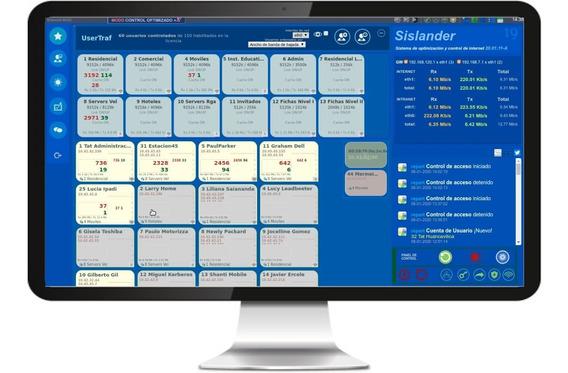 Sislander Software Controlar + Optimizar Internet En Redes