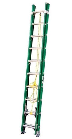 Escalera Fibra De Vidrio De Extensión 24 Esc Akron 77-97