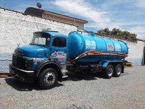 Caminhão Limpa Fossa / Combinado / Hidrojato 13 500 Litros
