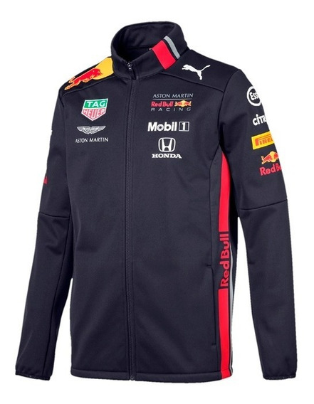 Chamarra Softshell Red Bull Racing 2019 F1 * Incluye Regalo*