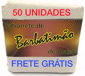 Barbatimão Sabonete Barra 90gr. 50 Unid, (frete Grátis)