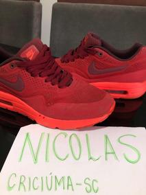 Nike Air Max 1 Ultra Moire Vermelho Reflective