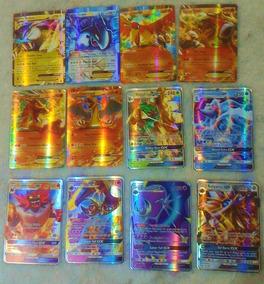 100 Cartas Pokemon Trading Card Game Gx , Ex Muito Top!