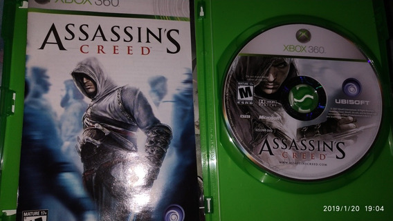 Saga Assassins Creed Xbox360! 6 Jogos,mídia Física Original!