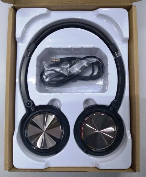 Fone De Ouvido Headphone On-ear Yoga Cd-46