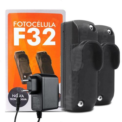 Sensor Fotocélula Anti Esmagamento Ppa F32 Fonte 12v Portão