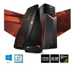 Pc Gamer Acer Aspire Gx-783-br13 Intel I7 16gb E Gtx 1060