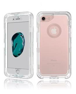 Funda Uso Rudo Tipo Otterbox iPhone 6 7 8 Plus X Xr Xs Max