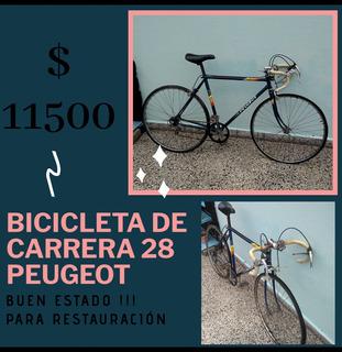 Bicicleta De Carrera Peugeot