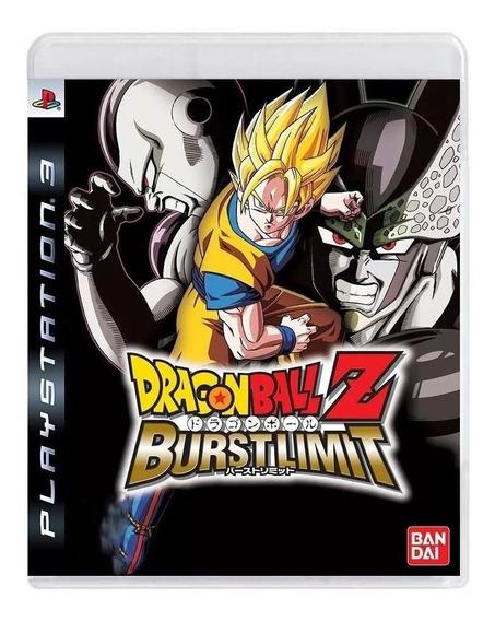 Dragon Ball Z Burst Limit Ps3 Mídia Física