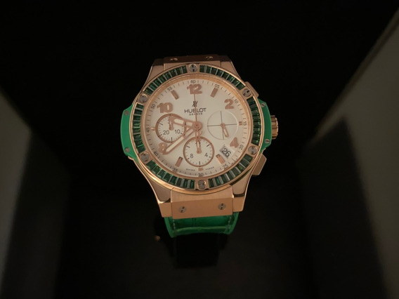 Hublot Big Bang Tutti Frutti Apple,41 Mm De Oro Rosa 18 Kt
