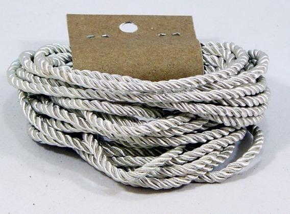 Cordón De Seda Natural Diámetro 3 Mm - Para Bijou - X 5 Mts