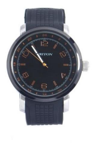 Relógio Masculino Prata Triton Eyewear Mtx288