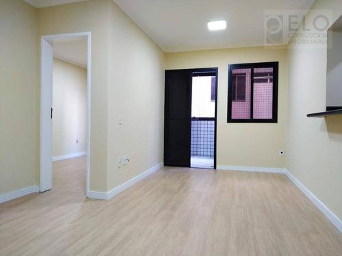 Apartamento Com 1 Dormitório À Venda, 52 M² Por R$ 235.000,00 - Itararé - São Vicente/sp - Ap2342