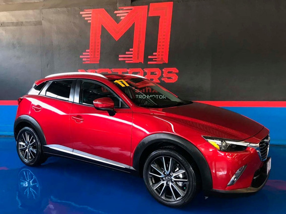 Mazda Cx-3 I Grand Touring At 2017 Guinda $ 289,500