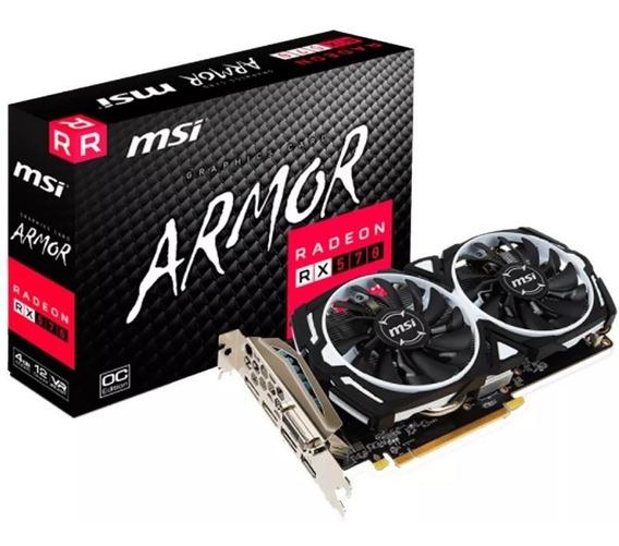 Placa Video Amd Ati Radeon Msi Rx 570 4gb Armor Oc Juegos 2