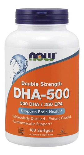 Dha 500 Now 180 Softgel Dha 500 Epa 250 - 180 Softgels