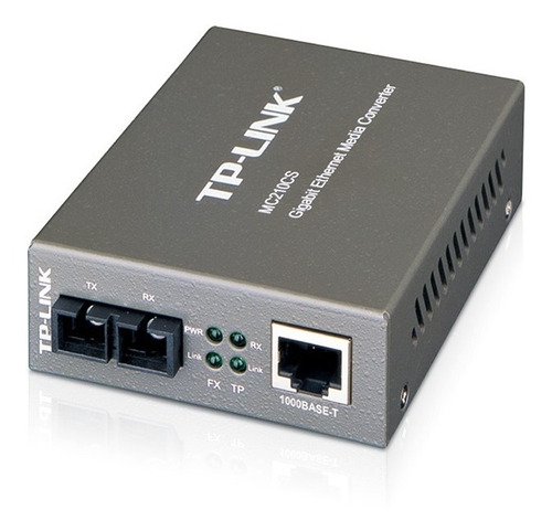 Conversor Multimedia Tp Link Mc210cs Optico Digital A Utp