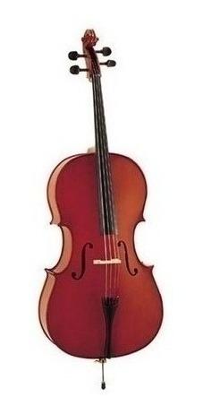 Violoncello 1/2 Estudio Pino + Funda Arco Stradella Mc601112