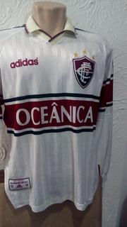 Camisa Fluminense adidas Manga Longa 1997 Colecionador Ofic