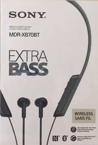 Fone De Ouvido Sem Fio Sony Extra Bass Mdr Xb70bt