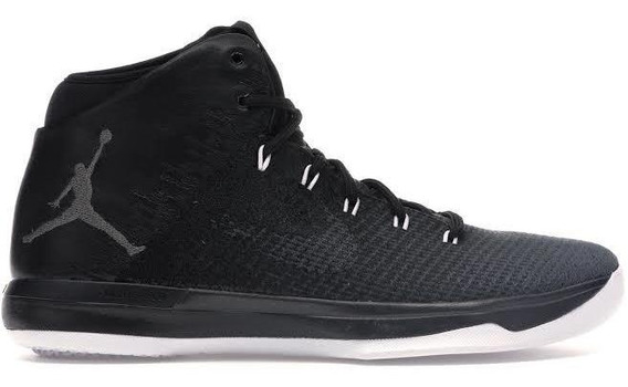 Tenis Jordan 31 Xxxi Black Cat / De Uso/ 29mx Detalle