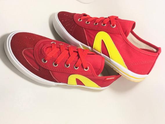 Tenis Rainha Vl2500 Promoção Kit 3 Pares Roxo/bco/verm.