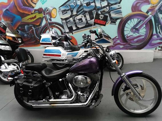 Harley-davidson Softail 1450 2002 Titulo Limpio Checala!!