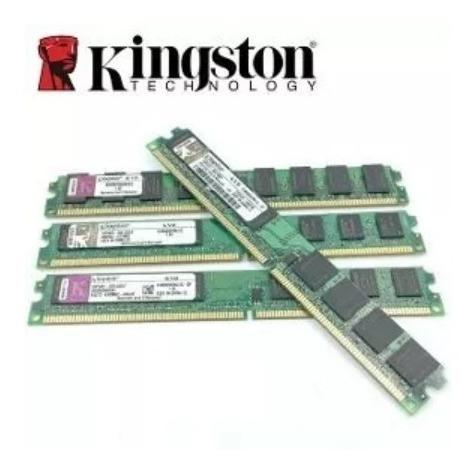 Memória Ddr2 2gb 800 Mhz Kingston Kvr800d2n6/2g